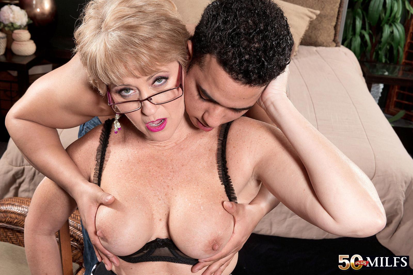 Lick Granny Tits