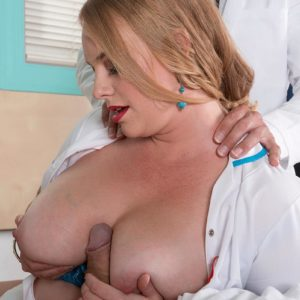 Fair-haired nurse Cameron Skye gets caught providing patient a hj by a doc