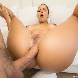 Latina MILF Diamond Kitten capitulates her cool immense ass during POV anal sex activity