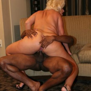 giant boobed golden-haired Kayla Kleevage and a mistress take part in an interracial four-way